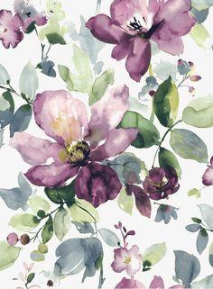 Acuarela,Pintado a mano de acuarela,Watercolor Flowers,Pintado a mano de acuarela