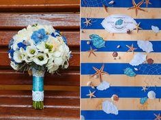 Свадебное оформление в морской стилистике