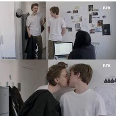 Isak & Even, Photo Wall, Fictional Characters, Photograph