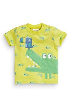Kaufen Sie Crocodile Appliqué T-Shirt (0–18Monate) heute online bei Next: Deutschland