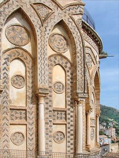 Le chevet de la cathédrale (Monreale)