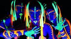 Tropa Afrofluor, la fuerza de la danza que brilla en la oscuridad