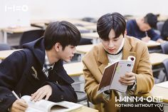 Wanna One 'Beautiful' BTS photo (Movie ver. Dan Lin, Hyun Kim, Couple Memes, Nothing Without You, No Min Woo, Woo Young, Ong Seongwoo, I Promise You, Fans Cafe