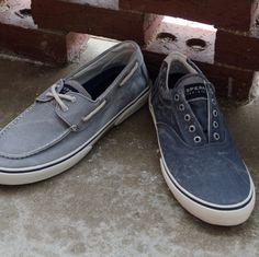 The right kind of weathered look. #verysperry - for the guys...