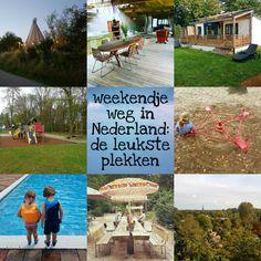 Weekendje weg in Nederland: de leukste plekken en vakantiehuisjes met kinderen #leukmetkids