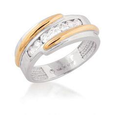 Designer Diamond Wedding Rings For Men