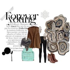 A fashion look from November 2014 featuring Fat Face leggings, Monsoon ankle booties and Atmos&Here backpacks. Browse and shop related looks.