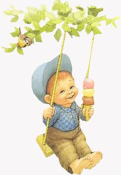 Ruth Morehead this looks like our little Oscar! Cute Images, Cute Pictures, Child Draw, Baby Mine, Sarah Kay, Decoupage Vintage, Picture Postcards, Holly Hobbie, Baby Art