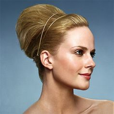 Retro-Inspired Bouffant Hairstyle - Look relaxed yet ravishing??in??these??Hollywood-inspired??hairdos?????? - Wedding Hairstyle
