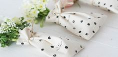 Hand printed Valentine's pouches | Apartment Apothecary
