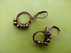 copper earings