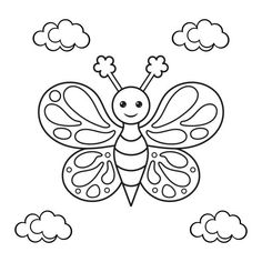 coloring pages – Google Søk Star Coloring Pages, Coloring Pages For Kids, Adult Coloring, Coloring Books, Free Printable Coloring Sheets, Outline Designs, Kawaii, Kids Story Books, Chenille