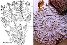 Kira scheme crochet: Scheme crochet no. 1477