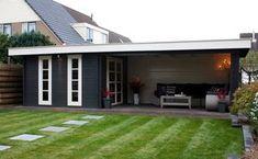 I like the open space concept Outdoor Areas, Outdoor Rooms, Outdoor Living, Pergola, Barbacoa Jardin, Backyard Studio, Wooden Terrace, Garden Architecture, Outside Living
