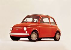 Fiat 500 designed by Dante Giacosa made its debut in 1957.