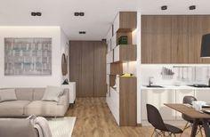 Обзор 3-комнатной квартиры: сногсшибательное сочетание дерева и белого цвета | Deeka | Яндекс Дзен