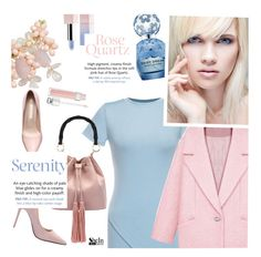 """Rose Quartz and Serenity"" by ansev ❤ liked on Polyvore featuring Marc Jacobs, Christian Dior, Sephora Collection, wintersunnies and shein"