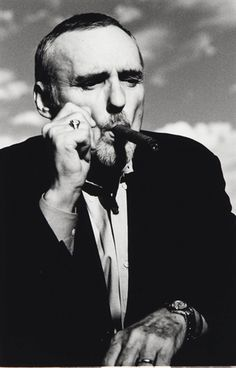 Sabine Hauswirth, Dennis Hopper Smoking a Cigar
