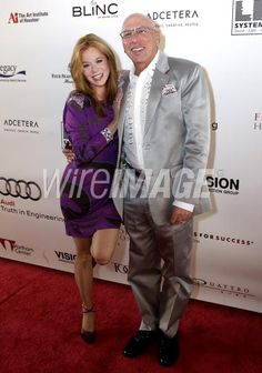Dr. Franklin Rose and wife Cindi pose on the red carpet on day four of Fashion Houston 2010 Presented By Audi at the Wortham Theatre Center  in Houston, Texas. (Photo by Bob Levey/WireImage)