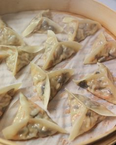 Dim Sum Recipe #7: Shiitake & Napa Cabbage Dumplings