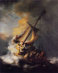 Rembrandt|The Storm on the Sea of Galilee