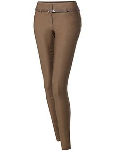 New Trending Pants: Basic Office Slim Tummy Control Stretch Full Length Belt Pants Khaki Size L. Basic Office Slim Tummy Control Stretch Full Length Belt Pants Khaki Size L  Special Offer: $27.87  155 Reviews Awesome21 is a company which carries professionally in womenswear. We specialize in basic to trendy items which will interest all the ladies and women looking for casual or...