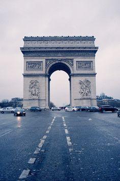 arc de triomphe. by parker severns, via Flickr