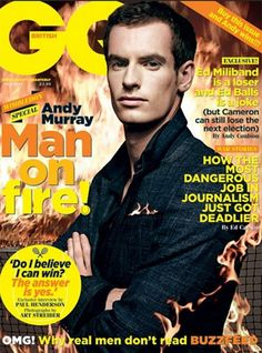 Andy Murray X British GQ July 2013 Issue - http://pinkswag.com/2013/06/04/andy-murray-x-british-gq-july-2013-issue/
