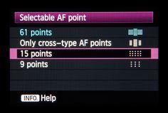 Canon EOS 5D Mark III tips: Autofocus points