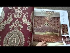 A13-6 Provence-Embossed PVC Wallpaper From MyWow