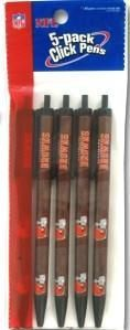 ~Cleveland Browns Click Pens - 5 Pack~ backorder