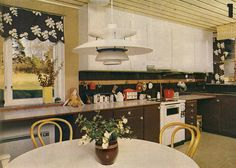 henning poulsen ph lamp retro vintage kitchens interior design danish swedish