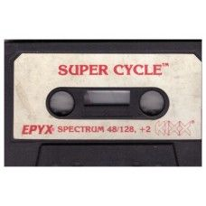 Super Cycle Tape Only for ZX Spectrum from Kixx