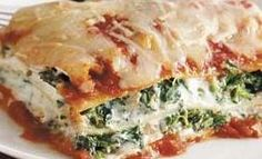 Microwave lasagna recipe
