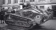 FT17 tank, Renault, WWI & II. Among most revolutionary in history