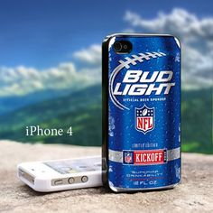Bud Light NFL Kickoff Can Cold 2 iphone case