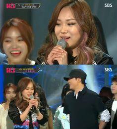 Survival Audition K-pop Star Final Match; Katie Kim and Jung Seung Hwan Katie Kim, Korean Variety Shows, Seung Hwan, K Pop Star, Korean Entertainment, Finals, Tv Shows, Survival, Kpop