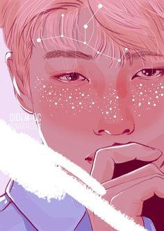 Find images and videos about kpop, bts and namjoon on We Heart It - the app to get lost in what you love. Namjoon, Fanart Bts, Kpop Drawings, Bts Fans, Bts Chibi, Rap Monster, Bts Wallpaper, K Pop, Photos