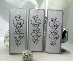 Heart a'stack - Wedding gift tags