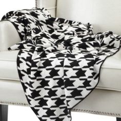 Houndstooth Throw from Z Gallerie