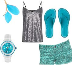 """""""Blue Lepord"""" by jasmineagreen on Polyvore"""