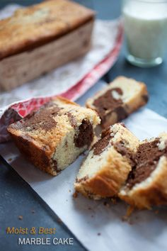 Marble Cake, super moist, rich, and absolutely the best. This recipe is the only marble cake recipe you will need! Easy Delicious Recipes, Delicious Desserts, Yummy Food, Marble Cake Recipes, Dessert Recipes, Icing Recipes, Cupcake Recipes, Yummy Treats, Sweet Treats
