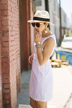 Fedoras on women equally as fashionable.