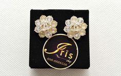 ต่างหู Chanel Earrings Crystal GHW ของใหม่พร้อมส่ง‼️ - Iris Shop