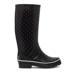ad446a655511 polka dot rain boots from kate spade new york. i wish i had these this