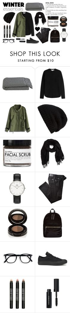 """~Winter Essentials~"" by bethangranger ❤ liked on Polyvore featuring Crate and Barrel, Alexander Wang, Chicwish, Rick Owens, Fig+Yarrow, David & Young, Daniel Wellington, BRAX, Anastasia Beverly Hills and New Look"