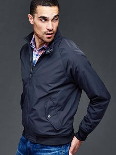 Lightweight harrington jacket | Gap