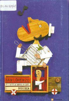 Fiestas de San Lorenzo, año 2001