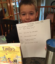 """Unit 26 - Day 1 - Storytime: Humor includes stories, jokes, and poems that cause laughter and are very entertaining. Let's create a """"Humorous Events Chart"""" for the book we have been reading."""