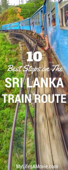 10 Best Stops on Sri Lanka& Scenic Train Route Asia Travel, Solo Travel, Bali, Where Is Bora Bora, Train Route, Adventure Activities, Travel Guides, Travel Tips, Travel Hacks